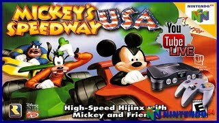 LIVE: Mickey's Speedway USA (N64)