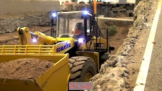 4. Advent R/C meeting with trucks and construction machines at RCTKA part 1