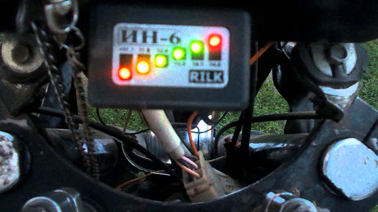схема подключенияреле поворотов на мотоцикал иж юпитер