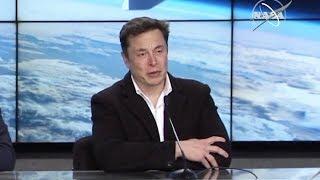 Elon Musk Gets Emotional About Moon Landing