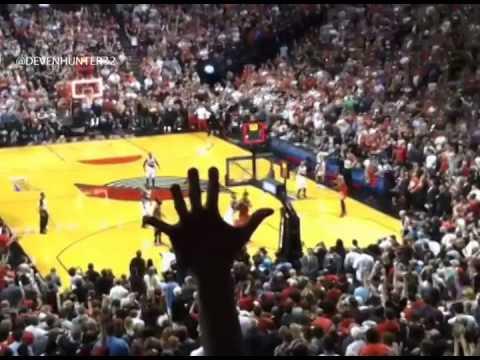 Damian Lillard Buzzer Beater Beats Rockets - Fan Reaction Compilation