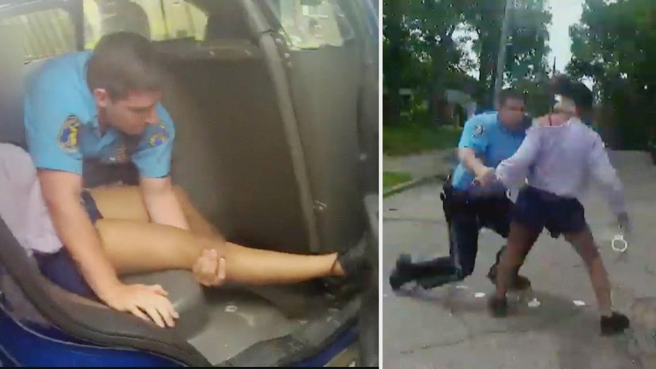 White Girl Punched By White Michigan Police During Arrest