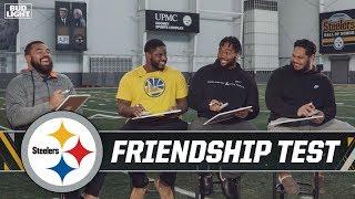Steelers Cameron Heyward's Favorite Game of Thrones Character?   Bud Light Friendship Test