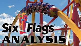 Analysis of Wonder Woman: Golden Lasso Coaster Six Flags Fiesta Texas 2018