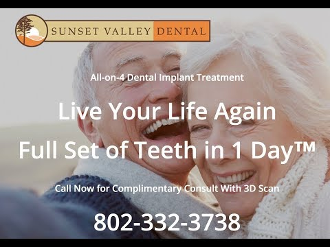 Replacing Missing Teeth with Dental Implants with Woodstock, VT dentist Jedidiah Janisse, DMD