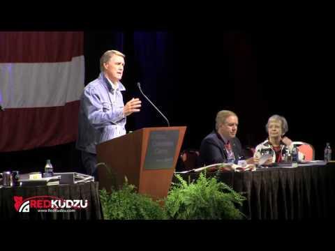 Senator David Perdue at the 2016 Georgia Republican State Convention