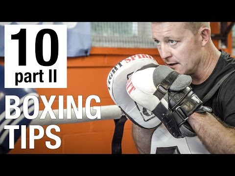 10 Essential Boxing Tips in 2-Minutes - Part II