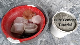 Asmr Pure Cement Detailed Tutorial by Relaxing ASMR