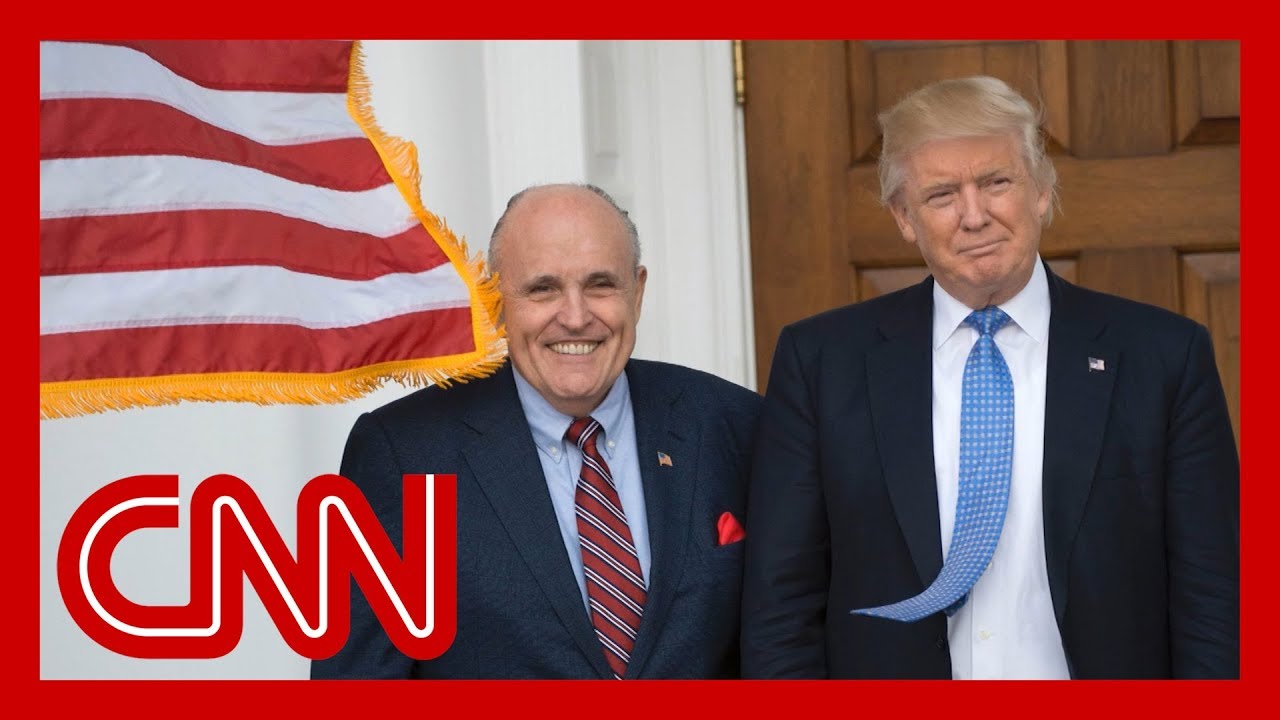 Trump distances himself from Giuliani in O'Reilly interview