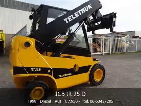 Промышленный вилочный погрузчик JCB Teletruk 25D