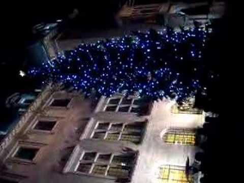 Kerstboom Coolsingel rotterdam