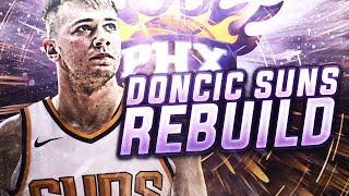 75 WINS?? LUKA DONCIC SUNS REBUILD! NBA 2K18
