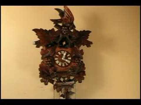 Fox And Crow Cuckoo Clock