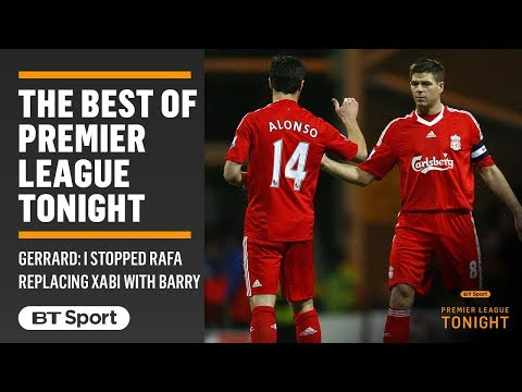 Steven Gerrard: Liverpool almost signed Gareth Barry to replace Xabi Alonso