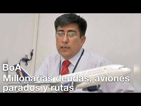 Ronald Casso, el nuevo gerente de Boliviana de Aviación (BoA)