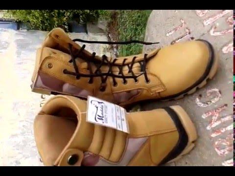 Sepatu Safety Boots Pdl 081 217 276 349 Youtube