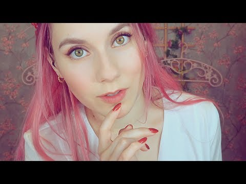 ASMR - SLEEP CLINIC - Doctor Spring will make you feel good! - Visual triggers  ( hand movements) thumbnail