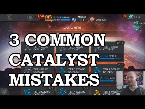 Catalyst Management   Marvel Contest of Champions