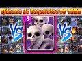 Ejército de Esqueletos VS TODAS las Cartas   En Defensa   14 VS 1