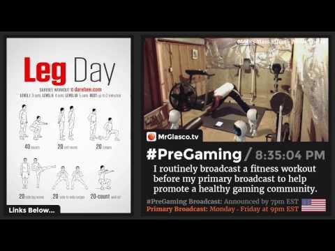 #PreGaming: DAREBEE Leg Day Workout 💪