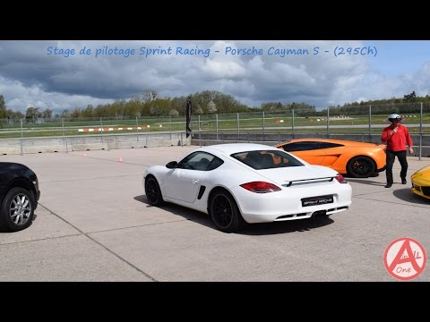 Stage Sprint Racing - Porsche Cayman S - 10 Tours - Circuit Chenevières