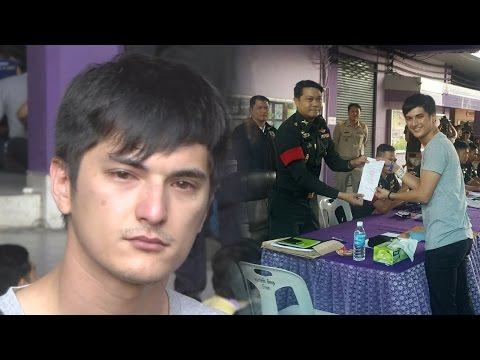 """""""ชิน ชินวุฒิ"""" ปล่อยโฮเป็นห่วงแม่และน้อง หลังรู้ผลติดทหารไม่ทันตั้งตัว"""