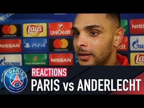 REACTIONS : PARIS SAINT-GERMAIN 5-0 ANDERLECHT