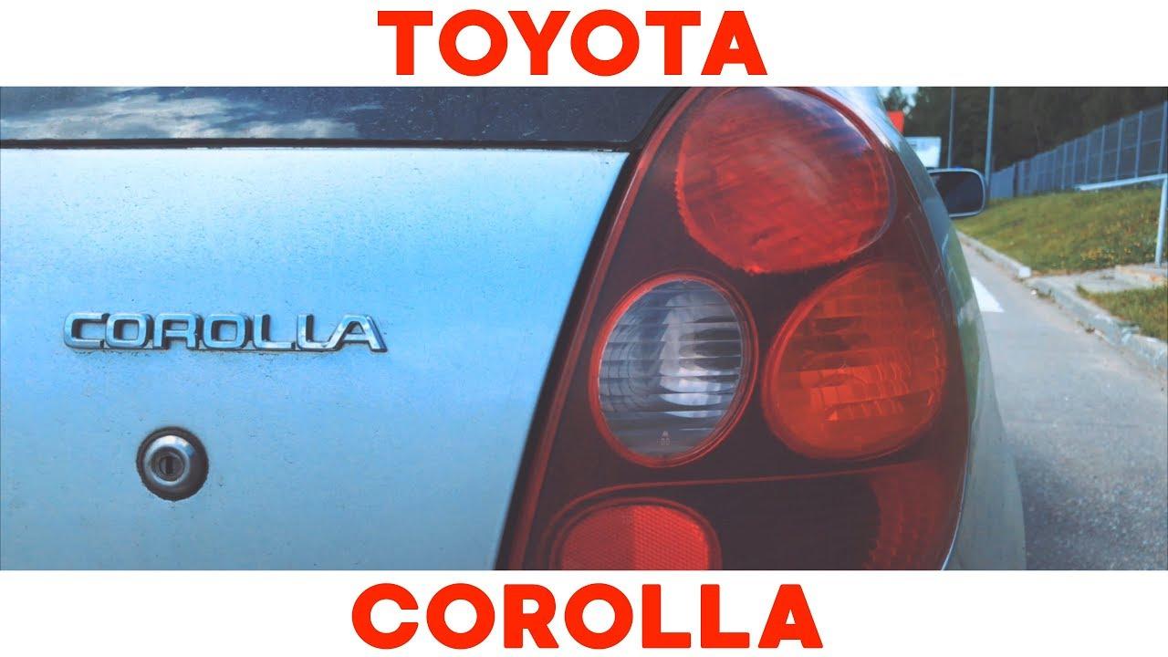 Filming CARs Toyota Corolla e11 l Corolla e110. TLD
