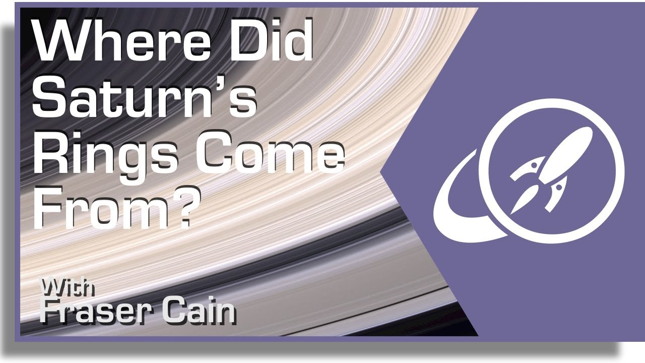 Where Did Saturn's Rings Come From? - YouTube