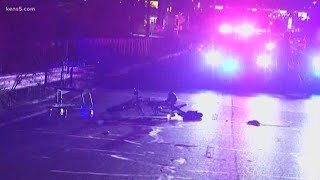 Bicyclist hit by driver overnight