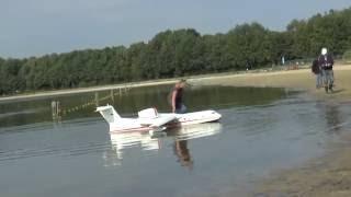beriev b 200 rc amfibious plane model scale 1 10
