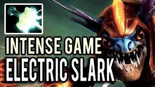 Super Carry Electric Slark 900 GPM 18 Kills Intense Game 9k MMR Gameplay 7.00 Dota 2