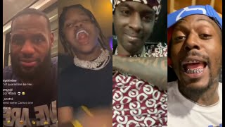 Rappers & Celebs React To Gucci Mane Jeezy Verzuz Battle Lebron, 42 Dugg, Young Dolph, Sauce Walka