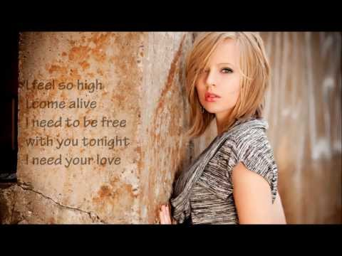 Madilyn Bailey ft  Jake Coco   I need your love  Lyrics on Screen