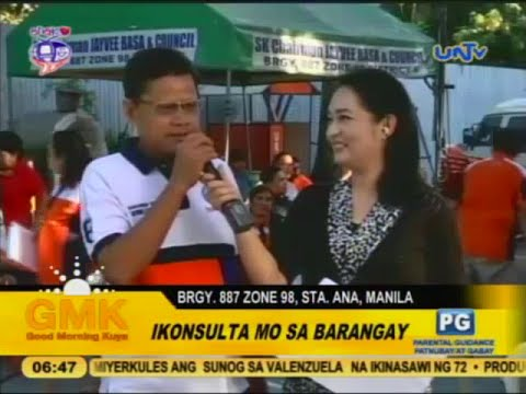 Free medical and legal services from UNTV in Sta. Ana, Manila