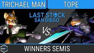 lssd 84 trichael man fox vs tope sheikmarth ssbm winners semis smash melee