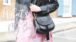 WHAT'S IN MY CHLOÉ HUDSON BAG | MsRosieBea