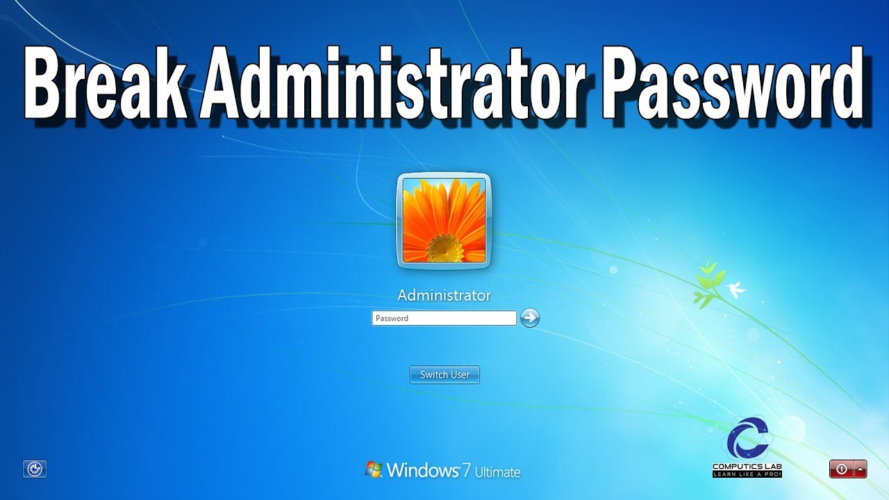 8 way to crack Windows Administrator Password Windows XP/7/8/10 |How to  crack administrator password
