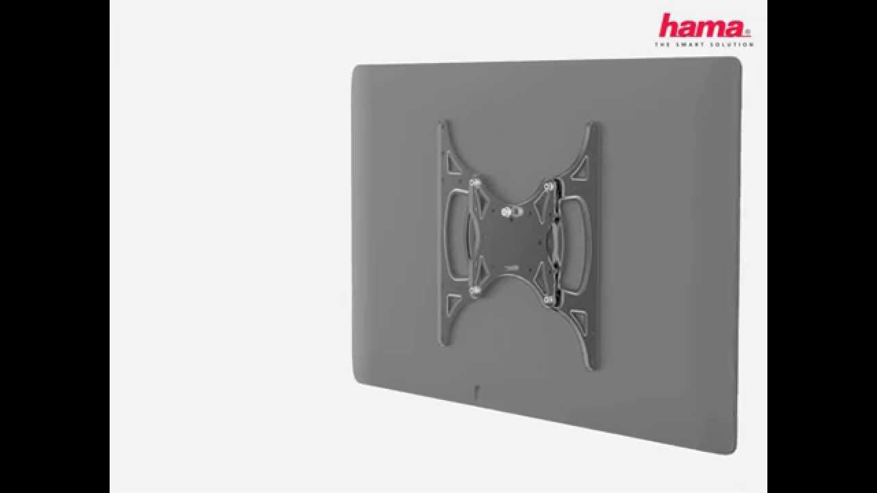 Installation: Hama Gasfeder TV Wandhalterung FULLMOTION 2.0