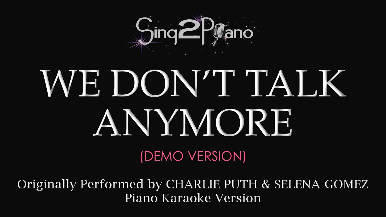 Download Lagu Attention Piano Karaoke Instrumental Charlie