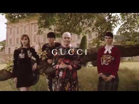 Vanessa Redgrave nella nuova pubblicità Gucci Cruise 2017