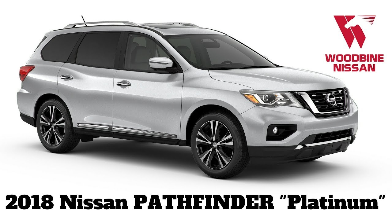 Nissan Pathfinder Platinum >> 2018 Nissan Pathfinder Platinum Walkaround Review - YouTube
