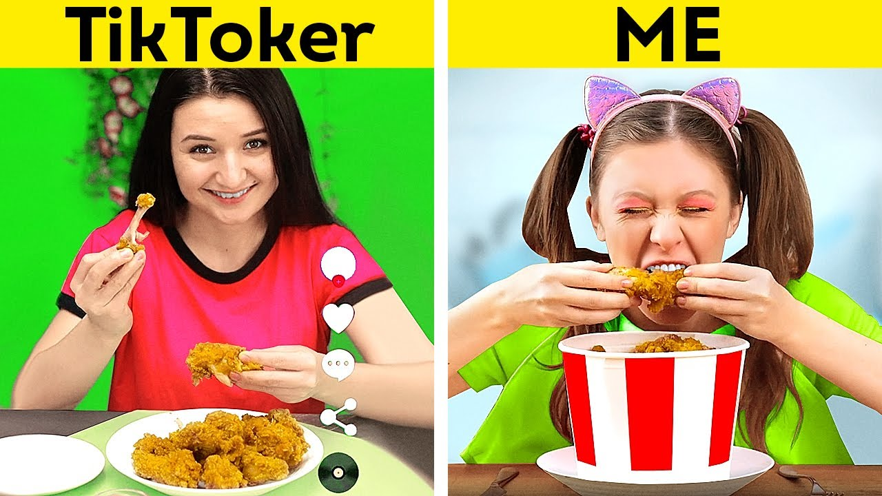 Download TIKTOKERS vs ME | Expectation & Reality
