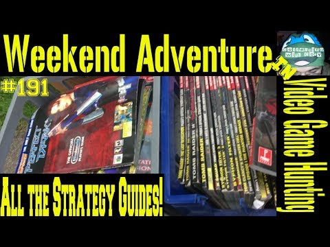 Weekend Adventure in Video Game Hunting #191: All The Strategy Guides!