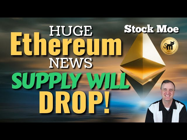 HUGE ETHEREUM NEWS WITH SUPPLY DIMINISHING - ETHEREUM PRICE PREDICTION & BEST CRYPTOCURRENCY TO BUY