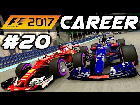 F1 2017 Career Mode Part 20: SEASON ONE FINALE - ABU DHABI GP