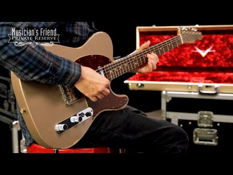 Fender Custom Shop Limited Edition '63 Relic Telecaster Electric Guitar