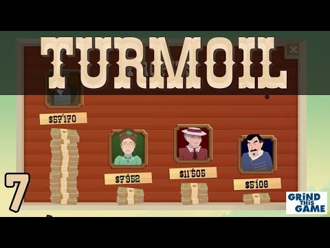 TURMOIL #7 - Oil Drilling Game - BEST YEAR YET USING GAS! - Plains Biome