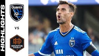 HIGHLIGHTS: San Jose Earthquakes vs. Houston Dynamo FC | July 24, 2021