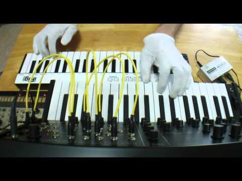 KENTON MIDI USB HOST 動作テスト